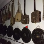 伝統楽器の数々