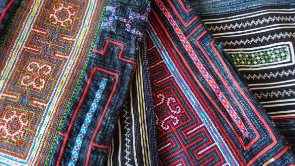 少数民族手刺繍
