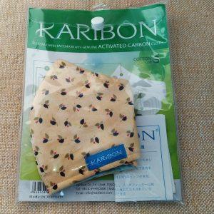 【KARIBON】洗って何度でも使える8層式活性炭布マスク(PM3.0対応)