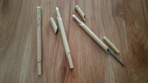 竹製ボールペン