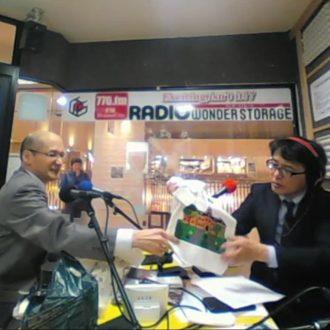 ワンダーストレージFMドラマシティのゲストで北星学園大学経済学部経済学科の萱野先生