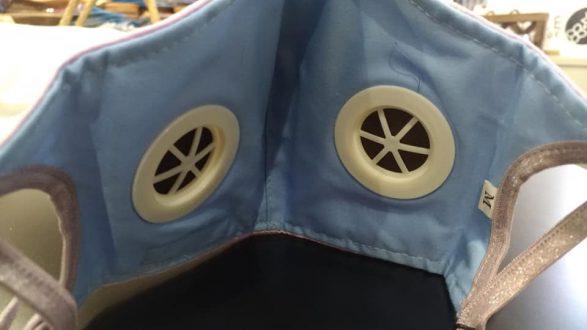 KARIBONエアバルブ付きマスク